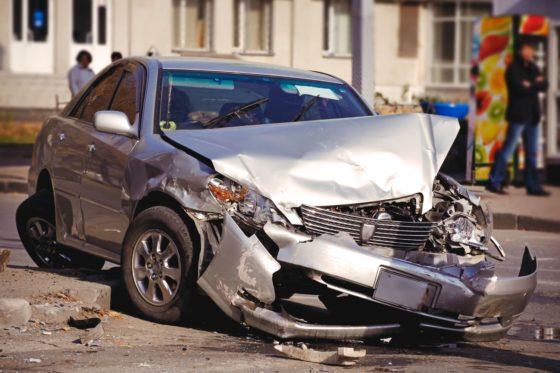 Фото авто после ДТП