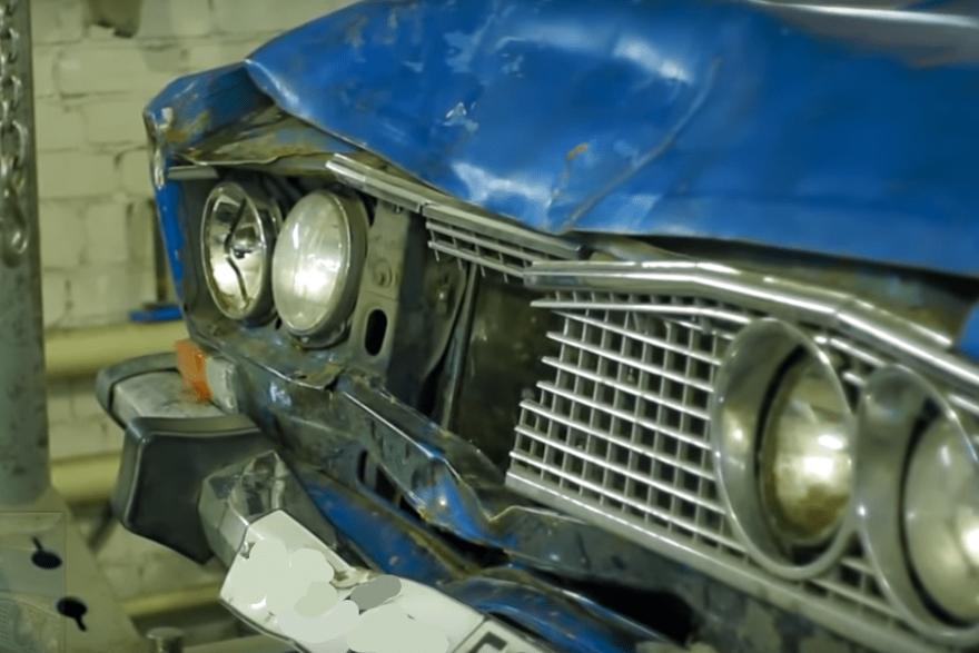Фото авто поврежденного в ДТП
