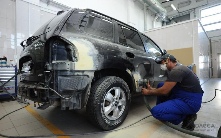 Фото процесса ремонта кузова