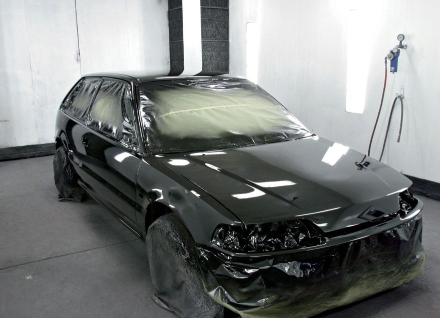 Фото покрашенного авто
